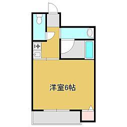 Osaka Metro今里筋線 清水駅 徒歩4分の賃貸マンション 1階1Kの間取り
