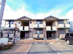埼玉県富士見市ふじみ野東3丁目の賃貸アパートの外観