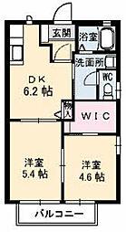 姫山フィルハーモニー コンセルトヘボウ[F102号室]の間取り