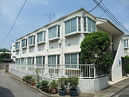東京都足立区中川2丁目の賃貸アパートの外観