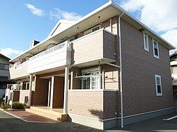 兵庫県姫路市飾磨区矢倉町1の賃貸アパートの外観
