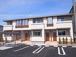 愛知県小牧市大字入鹿出新田の賃貸アパートの外観