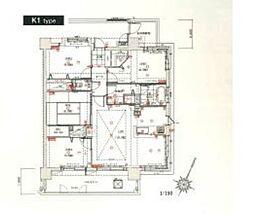 ルネッサンス21リバーサイド城南[6階]の間取り