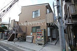 埼玉県草加市神明2丁目の賃貸アパートの外観