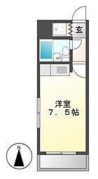 パレス吉田[2階]の間取り