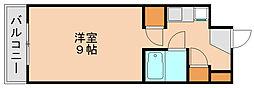 コンドミニアム箱崎[7階]の間取り