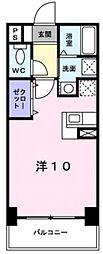アット長田[5階]の間取り