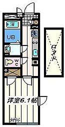 東京都葛飾区東四つ木4丁目の賃貸マンションの間取り