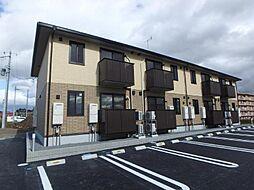 福島県郡山市日和田町字三本松の賃貸アパートの外観