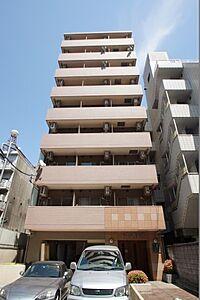 外観(新丸子駅徒歩1分の駅近マンションです。)