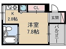 主原E-SITE[2階]の間取り