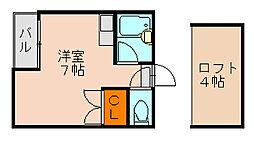 マキシム井尻[2階]の間取り
