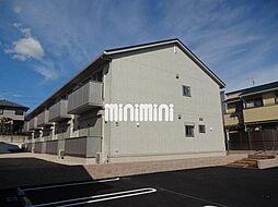 愛知県岡崎市岡町字東神馬崎南側の賃貸アパートの外観
