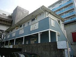 神奈川県川崎市中原区木月1の賃貸アパートの外観