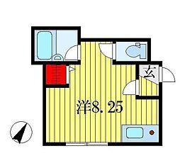 和弘ハイツ[1階]の間取り
