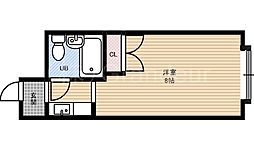 シャンポール中野[3階]の間取り