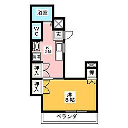 シティハイツ妙音[6階]の間取り