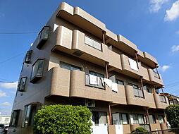 東京都日野市神明3丁目の賃貸マンションの外観