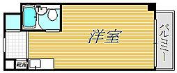 ロジマン御苑[5階]の間取り