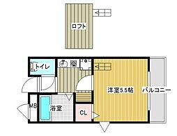 芸大ヒルズ[4階]の間取り
