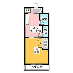 ファミーユIII[2階]の間取り
