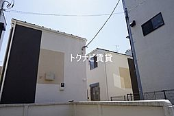 東京都世田谷区北沢4丁目の賃貸アパートの外観