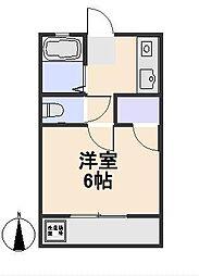 新海荘[2階]の間取り