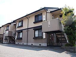 兵庫県姫路市飾磨区構2の賃貸アパートの外観