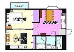 JS茅ヶ崎ビル201[201号室]の間取り
