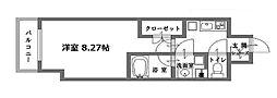 ミヤレジデンス新町[3階]の間取り