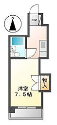コーポ伊勢山[5階]の間取り