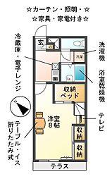 ESPASION[2階]の間取り