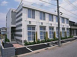 千葉県松戸市五香5の賃貸アパートの外観