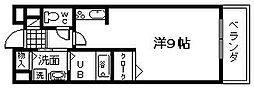ベルアルモニー1[206号室]の間取り