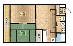 新城井上ビルIII[305号室]の間取り