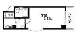 Rinon 脇浜[201号室]の間取り