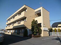 栃木県佐野市植野町の賃貸アパートの外観