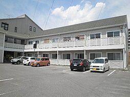 愛知県安城市二本木町長根の賃貸アパートの外観