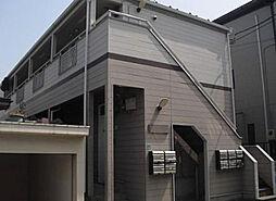 東京都板橋区徳丸8丁目の賃貸アパートの外観