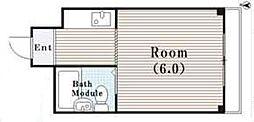 アパートメント守口VIII[4階]の間取り