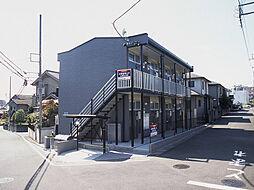 東京都八王子市西片倉2丁目の賃貸アパートの外観