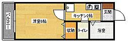 ドエルK[2階]の間取り