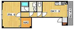 コーペラドール[2階]の間取り