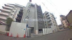 大阪府東大阪市高井田元町2の賃貸マンションの外観