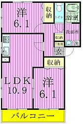 メゾンドグランマ[2階]の間取り