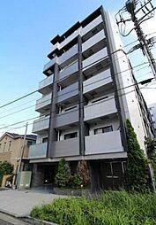 東京都渋谷区幡ヶ谷1丁目の賃貸マンションの外観