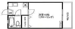 ファミーユフレール[1階]の間取り