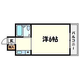 アニバーサリー40th[8階]の間取り