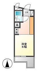メゾン・ド・チクサ[4階]の間取り