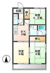 本田ビル[2階]の間取り